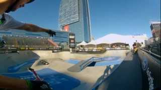 GoPro HD: BMX Park Course Preview with Drew Bezanson – Summer X Games 2012
