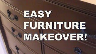 REFINISH FURNITURE WITHOUT SANDING Rust-Oleum Cabinet Transformations Kit