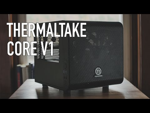 Thermaltake Core V1 ITX Case ($50 ITX Case!)