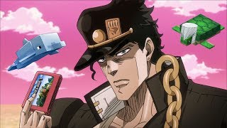 Jotaro Plays Minecraft