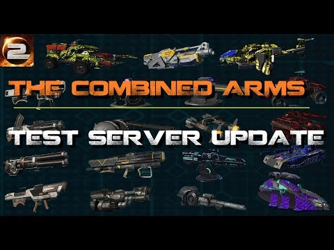 Combined Arms Test Server Update | Mass Vehicle / Weapon Changes (PlanetSide 2) 18th April