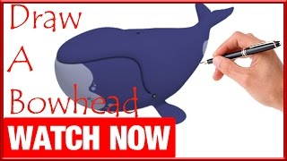 How To Draw A Bowhead - Learn To Draw - Art Space