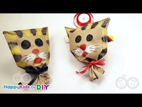 Paper Bag Tiger | Paper Crafts | Kid's Crafts and Activities | Happykids DIY