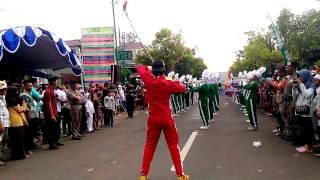 Karnaval Jepara Drum Band MTs Nahdlatul Fata