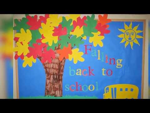 Classroom board decoration ideas for primary school ...
