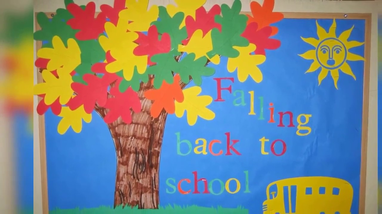 Classroom Board Decoration Ideas For Primary School Kindergarten