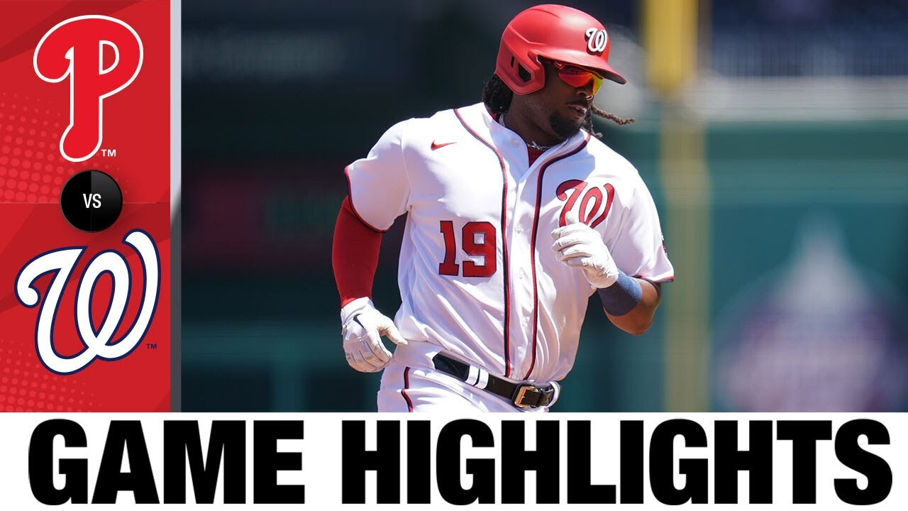 Download Phillies vs. Nationals Game Highlights (5/13/21) | MLB Highlights
