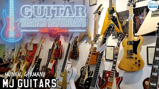 Guitar Search Saturdays Episode #32 - MJ Guitars - Munich, Germany!