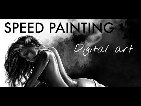 Digital Painting Artistic Body