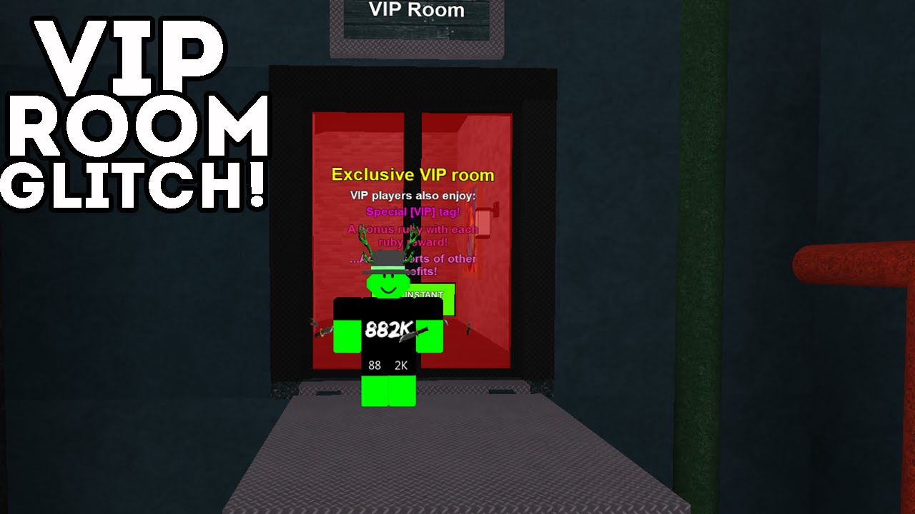 Roblox Room: How To Get In The Mad Games VIP Room