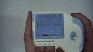 Portable ECG Monitor Demonstration