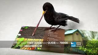 Welcome Wildlife to your Garden advert