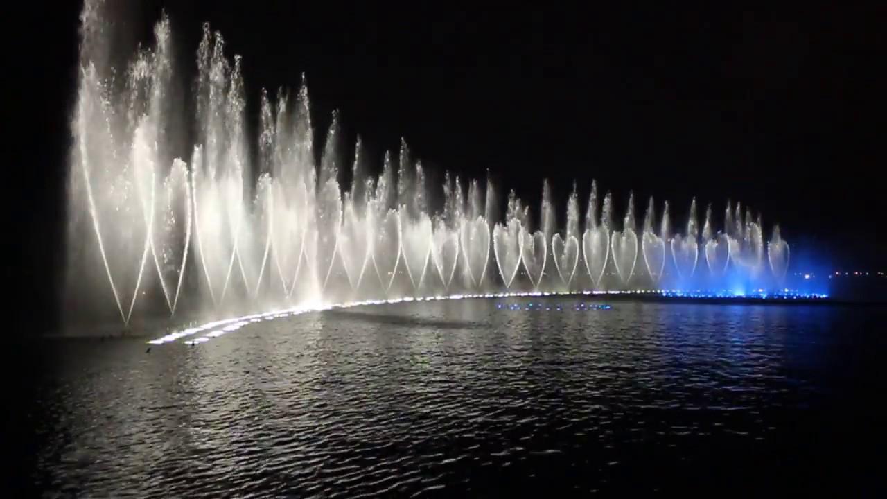 West Lake In Hangzhou Musical Fountain Youtube