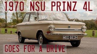 1970 NSU Super Prinz 4L taken for a drive