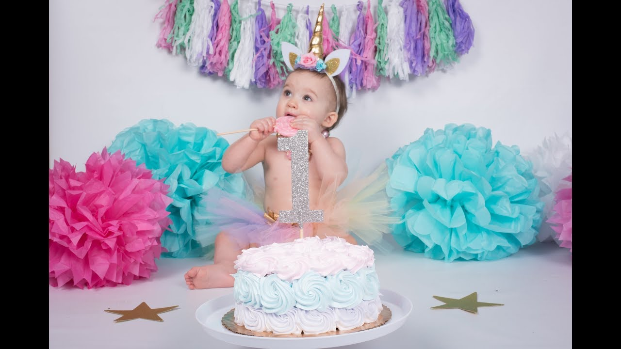Diy Unicorn Birthday Baby S First Birthday Party Unicorn Theme