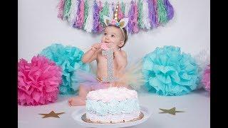 DIY UNICORN BIRTHDAY | BABY