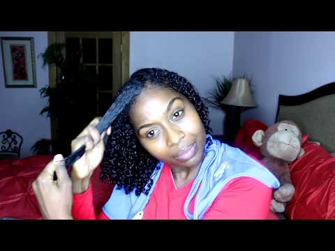 Wash And Go With Eco Styler Olive Oil Gel YouTube