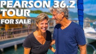 Pearson 36.2 Sailboat Tour - Buy This Boat?