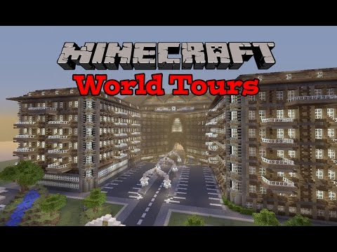 Minecraft Xbox - Alpine Hotel - World Tours Ep.7