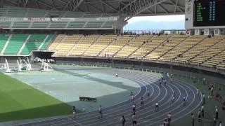 2014IH陸上北九州地区予選 男子4×400mリレー決勝