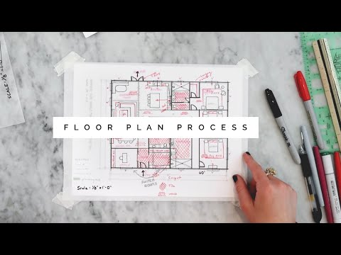How to Create a Floor Plan | For Interior Designers