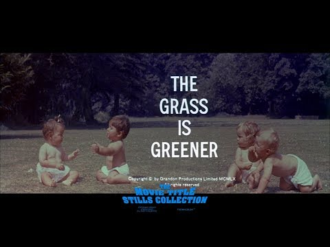 The Grass Is Greener (1960) Title Sequence