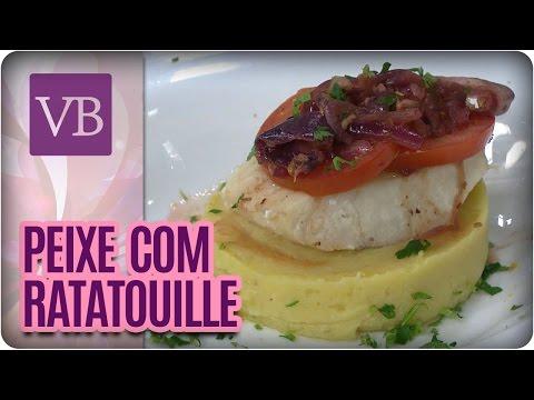 Resultado de imagem para imagem Peixe com Ratatouille de tomate e cebola do voce bonita