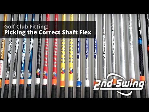 Golf Club Fitting: Picking The Correct Shaft Flex