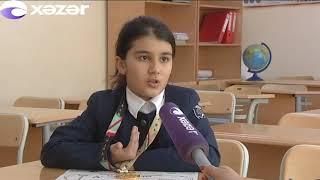 Bakı məktəblisindən İranda örnək addım
