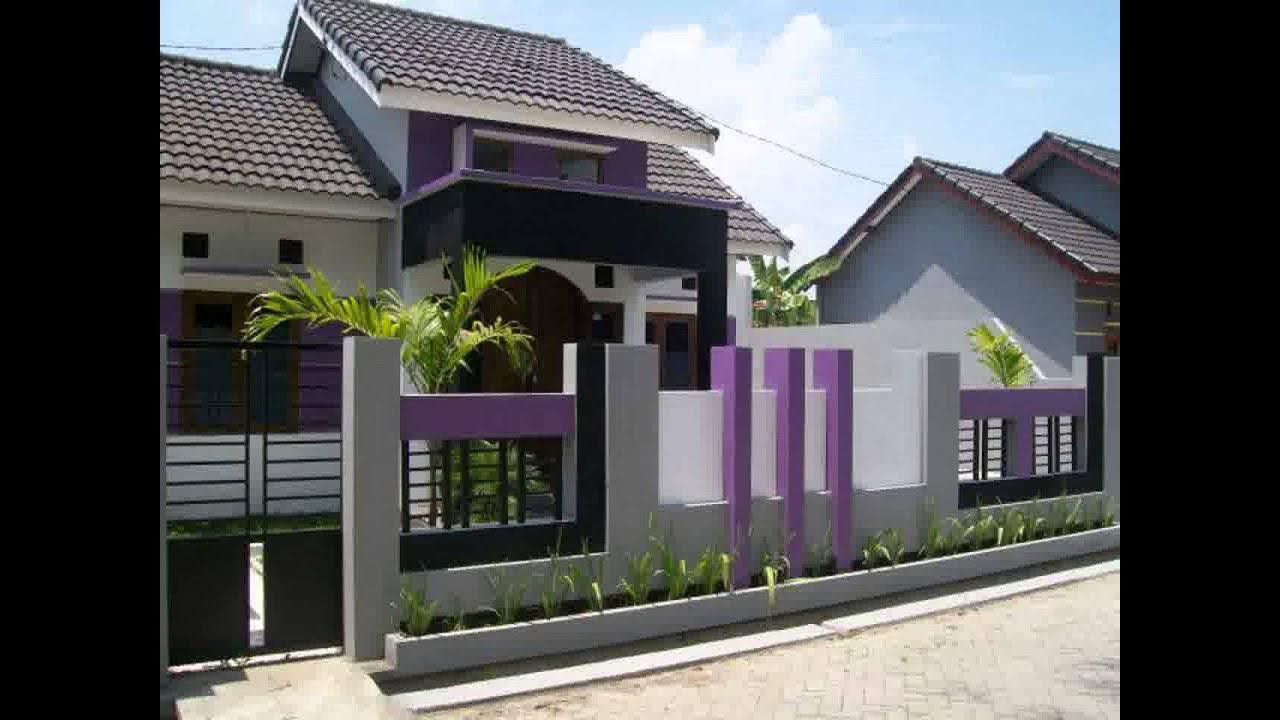 ukuran tinggi pagar rumah minimali paling diminati saat ...