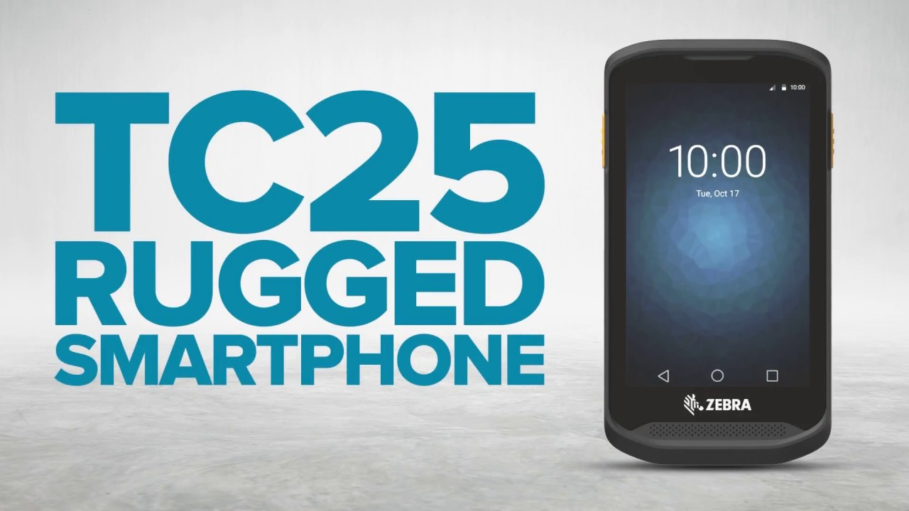 Zebra TC25 Rugged Smartphone - Barcode Scanning