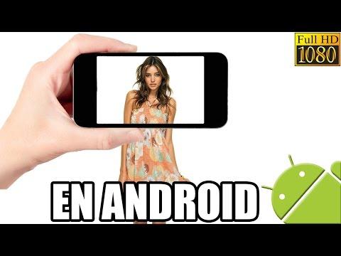 Como Quitar El Fondo A Imágenes Fotos Fácil Y Rápido Con Android / Aplicación Gratuita