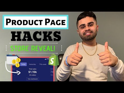 High Converting E-Commerce Product Page Guide | Shopify Drop Shipping 2019-2020 (*STORE REVEAL!) thumbnail