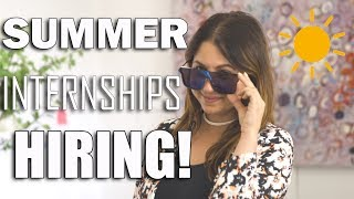 Hi All! Summer internship season is here so I thought I'd film a sh...