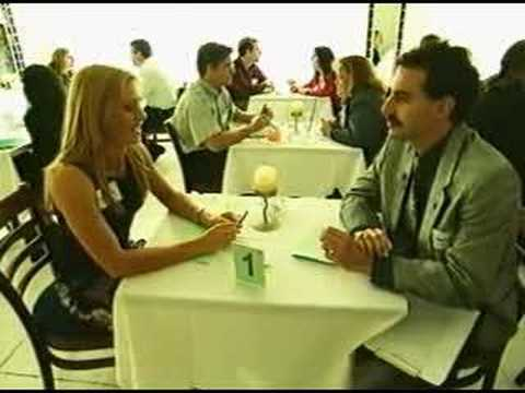Borat Interviewing a Dating Consoler