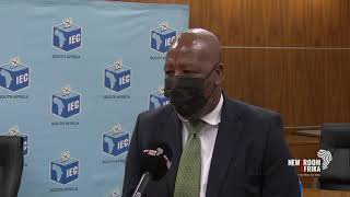 The IEC has just held a briefing on the road ahead, ahead of local government elections