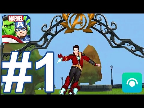 MARVEL Avengers Academy - Gameplay Walkthrough Part #1 - Level 1-9 (iOS, Android)