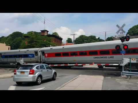 Grand Central Terminal Bound Metro-North Train Arrives At Peekskill Station
