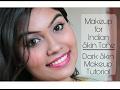 Makeup For Indian Skin Tone | Dark Skin | Makeup Simplified | Ishita Chanda