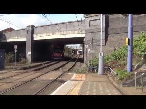Trams and Trains at Soho Benson Road