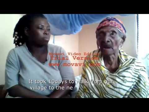 Old Woman Talks About The Ashanti Kingdom
