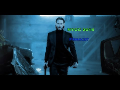 New York Comic Con (NYCC) 2016 John Wick: Chapter 2- Behind the Scenes footage