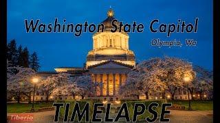 Washington State Capitol - Olympia, Wa - Timelapse - 1080p