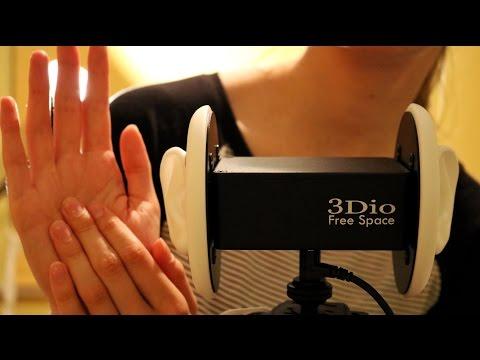 ASMR ♥ Relaxing Hand Sounds | 3D Audio