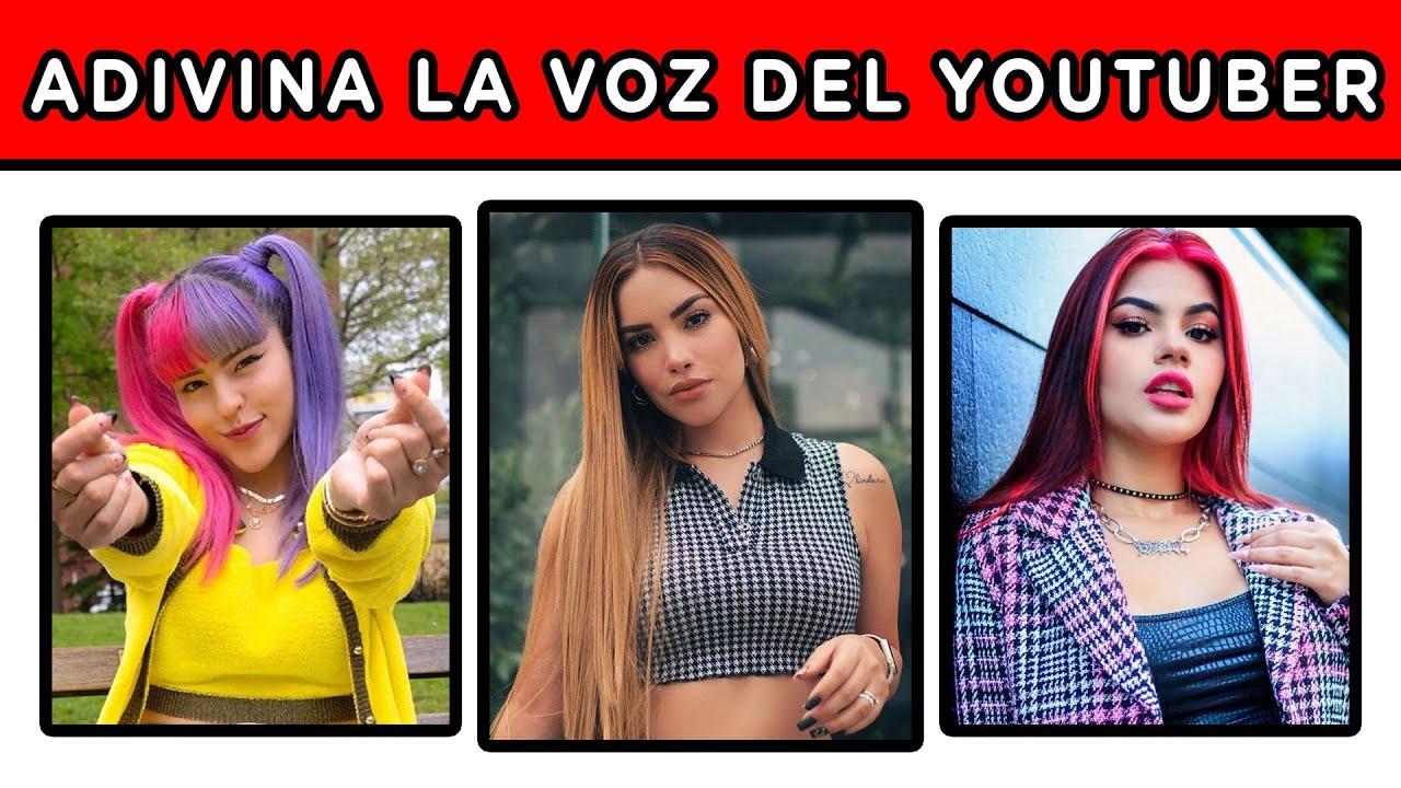 ADIVINA LA VOZ DEL YOUTUBER | EL RETO MAS DIVERTIDO DE YOUTUBERS | YOU OCIO
