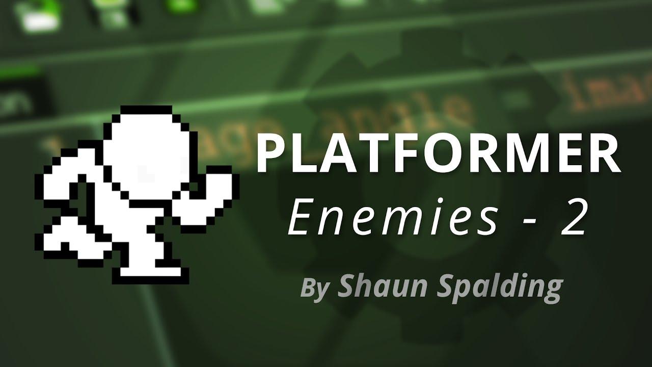 Gamemaker Studio Enemies Ledges Tutorial Youtube
