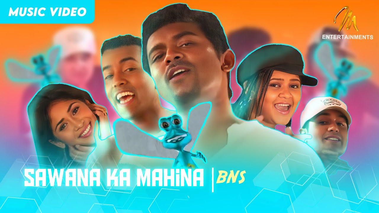 Download Sawana Ka Mahina(Remix) - BNS | Official Music Video | MEntertainments