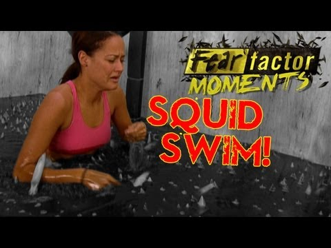 Fear Factor Moments | Swimming with Squid