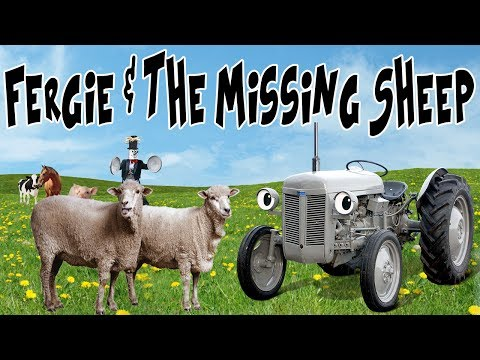 Fergie & The Missing Sheep! (Stop Motion Animation)