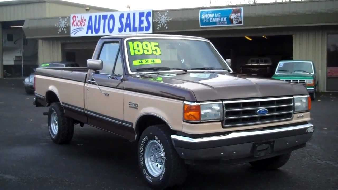 1991 FORD XLT LARIAT 4X4 SOLD - YouTube
